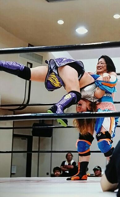 8月10日 JWP女子プロレスを観戦しました。