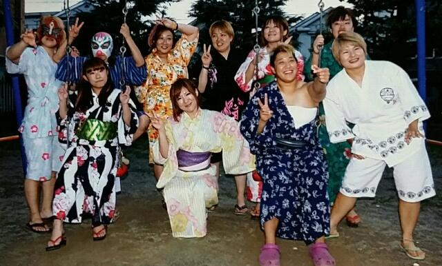 8月31日 JWP納涼夏祭りに参加しました。