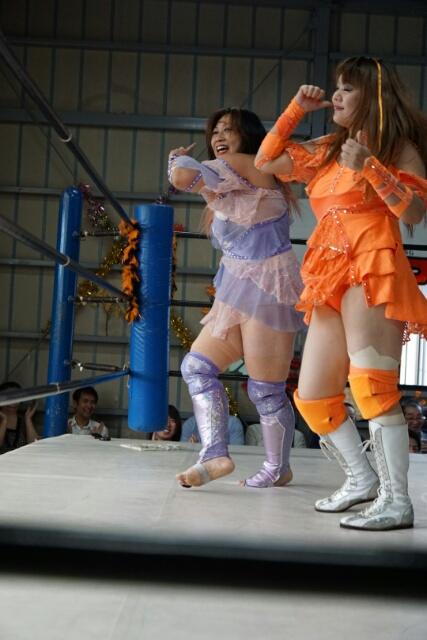9月23日 JWP女子プロレス道場マッチを観戦しました。